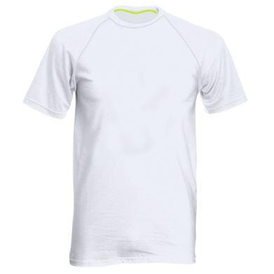 Цвет Белый, Мужские спортивные футболки - FatLine
