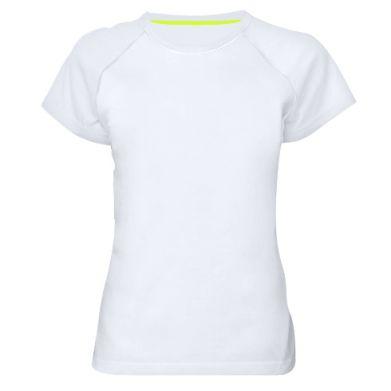 Цвет Белый, Женские спортивные футболки - FatLine