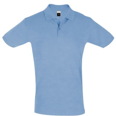 Бледно-голубые Поло мужские