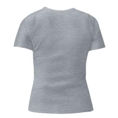 Женская стрейчевая футболка Чак Норис