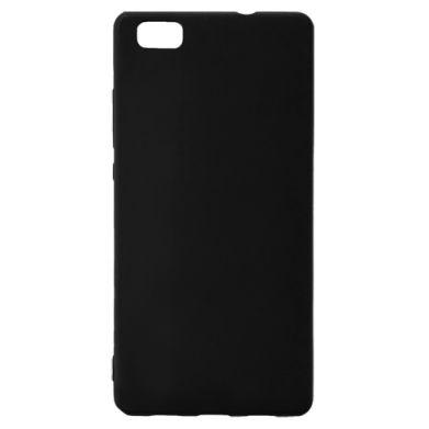 Цвет Черный, Huawei P8 Lite - FatLine