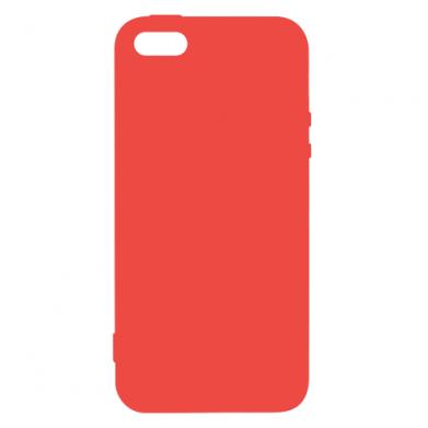 Цвет Красный, Apple iPhone 5/5S/SE - FatLine