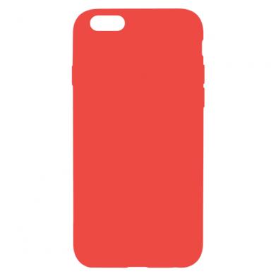 Цвет Красный, Apple iPhone 6/6S - FatLine