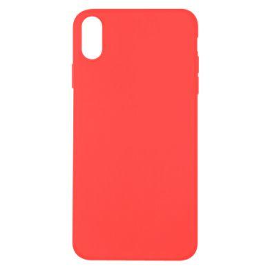 Цвет Красный, Apple iPhone X/Xs - FatLine