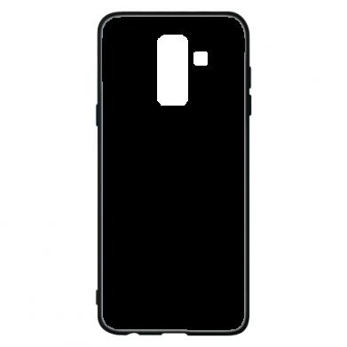 Чехол для Samsung A6+ 2018 Headphones and heart
