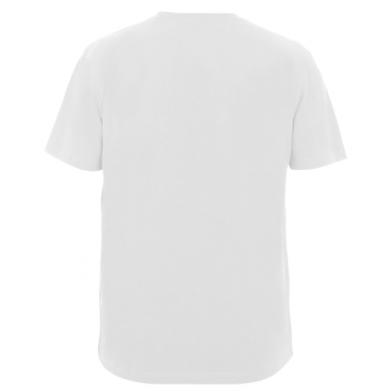 Мужская футболка  с V-образным вырезом Love is...