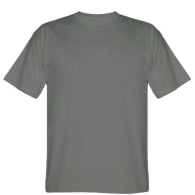 Цвет Темно-серый, Мужские футболки - FatLine