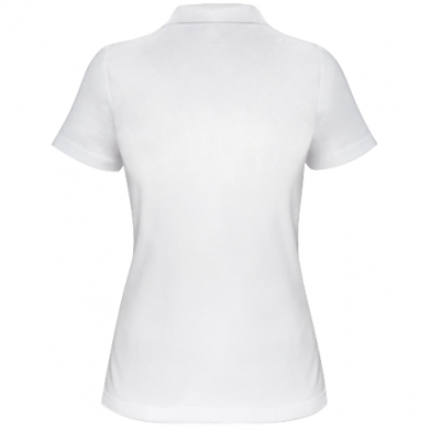 Цвет Белый, Поло женские - FatLine