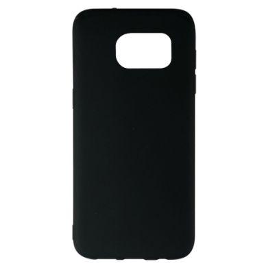 Цвет Черный, Samsung S7 EDGE - FatLine