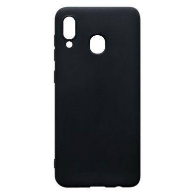 Цвет Черный, Samsung A30 - FatLine