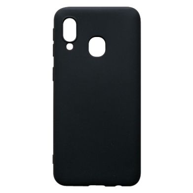 Цвет Черный, Samsung A40 - FatLine