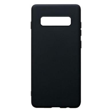 Цвет Черный, Samsung S10+ - FatLine