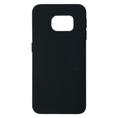 Цвет Черный, Samsung S6 EDGE - FatLine