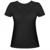 Женская футболка с V-образным вырезом Вытаскиваю пробелы