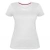 Женская стрейчевая футболка пузатик