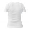 Женская футболка с V-образным вырезом Zombie Head