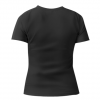 Женская футболка с V-образным вырезом Жизнь надо прожить так, что бы тебя мелом не обвели