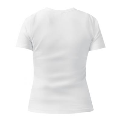 Женская стрейчевая футболка I love my car