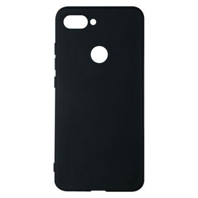 Цвет Черный, Xiaomi Mi8 Lite - FatLine