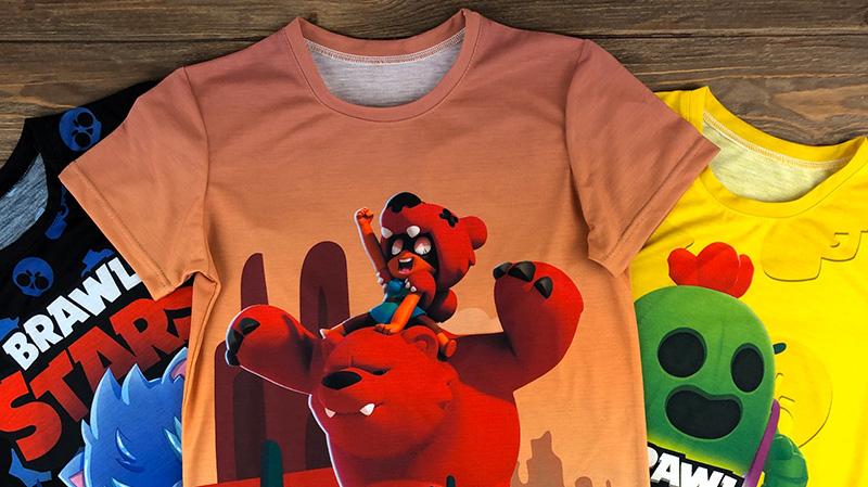 Детские 3D футболки