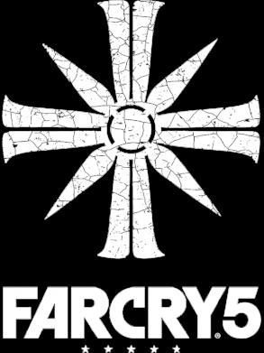 Принт Жіноча футболка FarCry 5 logo, Фото № 1 - FatLine