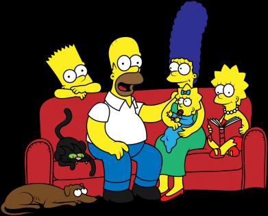 Принт Мужская толстовка Simpsons At Home, Фото № 1 - FatLine