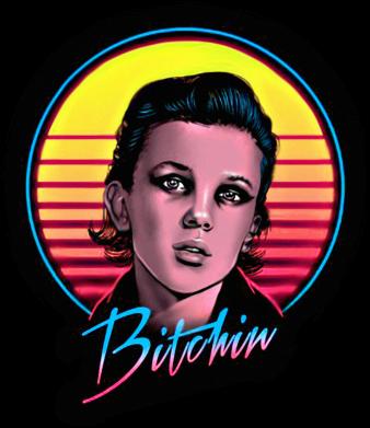 Принт Жіноча футболка Eleven Stranger Things, Фото № 1 - FatLine