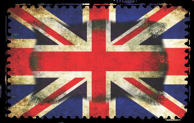 Принт Женская футболка с V-образным вырезом England - FatLine