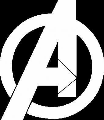 Принт Жіноча футболка Avengers logo, Фото № 1 - FatLine
