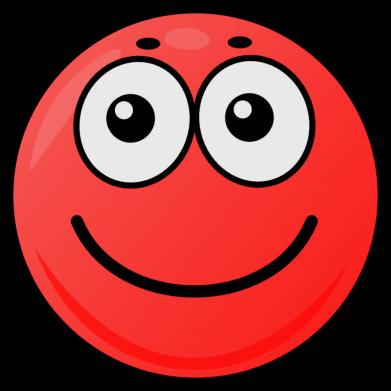 Принт Жіноча футболка Ball with smile, Фото № 1 - FatLine