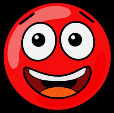 Принт Жіноча футболка Funny Red Ball, Фото № 1 - FatLine