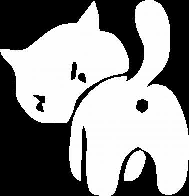 Принт Дитяча футболка злий коте - FatLine