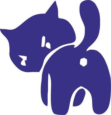 Принт Коврик для мыши злой котэ, Фото № 1 - FatLine