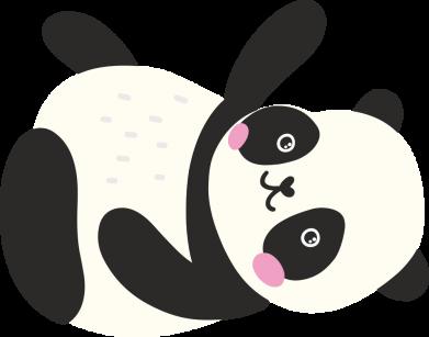 Принт Кепка Little panda, Фото № 1 - FatLine