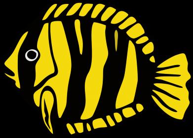 Принт Чоловічі шорти рибка - FatLine