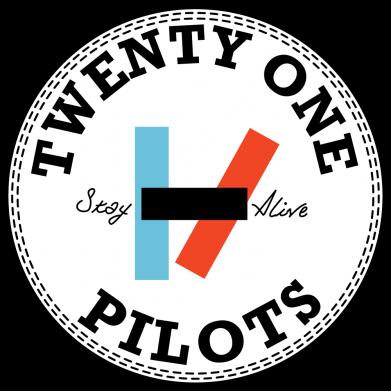 Принт Футболка з довгим рукавом Twenty One Pilots Stay Alive, Фото № 1 - FatLine