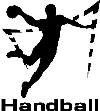Принт Кепка-тракер Гандболист в прыжке - FatLine