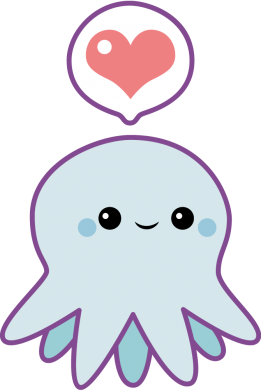 Принт Кепка Sweet Octopus, Фото № 1 - FatLine