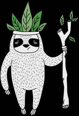 Принт Кепка King sloths, Фото № 1 - FatLine