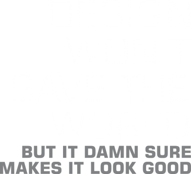 Принт Кепка Design won't save the world, Фото № 1 - FatLine