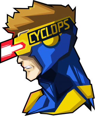 Принт Фартук Cyclops - FatLine