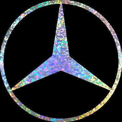 Принт Кепка Mercedes Лого Голограма, Фото № 1 - FatLine