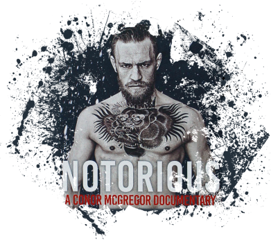 Принт Футболка McGregor Notorious - FatLine