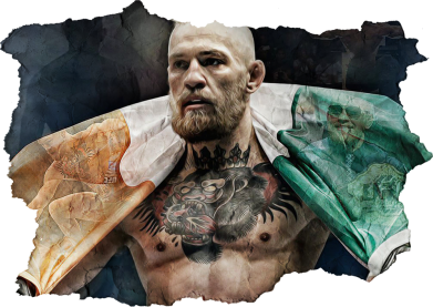Принт Футболка Conor McGregor Ireland - FatLine