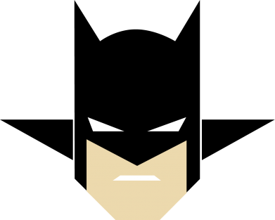 "Принт Майка-тельняшка Batman ""Minimalism"" - FatLine"