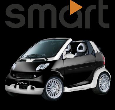 Принт Женские шорты Smart 450 - FatLine
