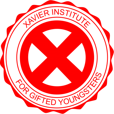 Принт Фартук Xavier Institute - FatLine