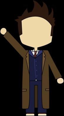Принт Кепка Cartoon Doctor Who, Фото № 1 - FatLine