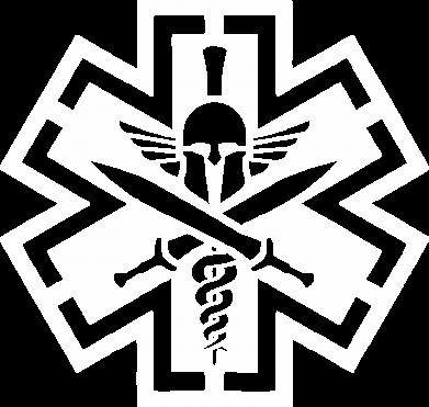 Принт Женская футболка с V-образным вырезом Бородатый байкер - FatLine