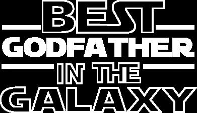 Принт Жіноча футболка Best godfather in the galaxy, Фото № 1 - FatLine